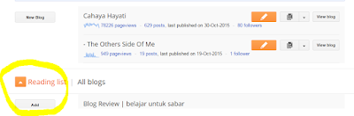Cara Follow Blog Yang Tiada Button Follower