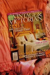 FEATURED IN VINTAGE & VICTORIAN MAGAZINE