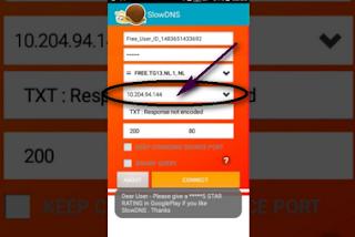 طريقة الحصول على dns الصحيح لتشغيل الانترنت بالمجان على تطبيق slowdns على جميع الدول