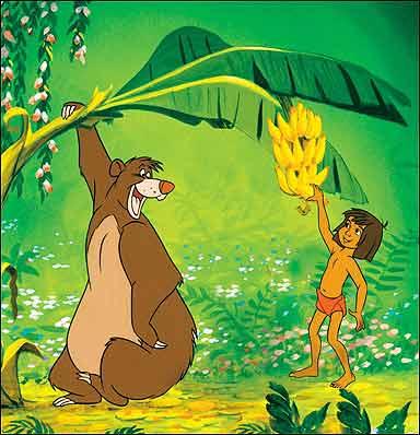 Cartoon Characters And Animated Movies Jungle Book Cartoon