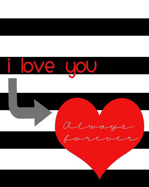 valentine free printable