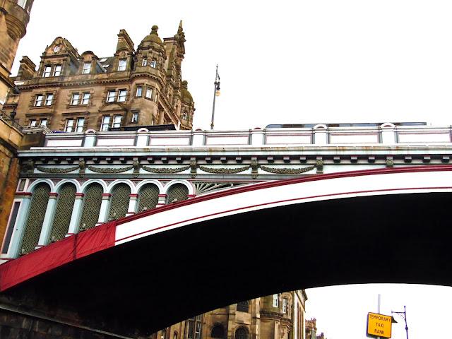 Bridge in Edinburgh city centre