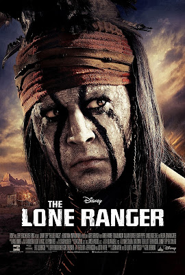 The Lone Ranger - Johnny Depp - Tonto Poster