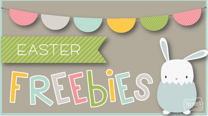Blog Hoppin': Easter Freebies!