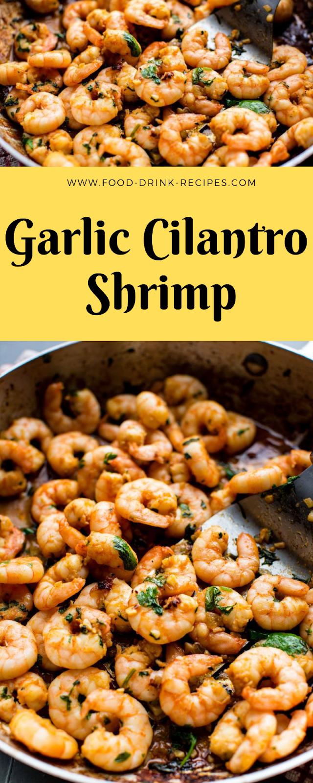 Garlic Cilantro Shrimp