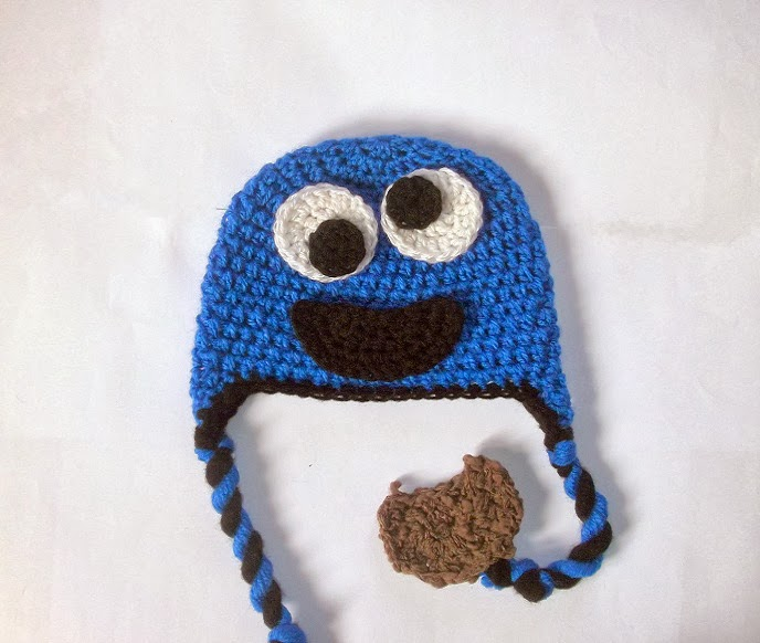 Cute Designs Free Cookie Monster Hat Crochet Pattern