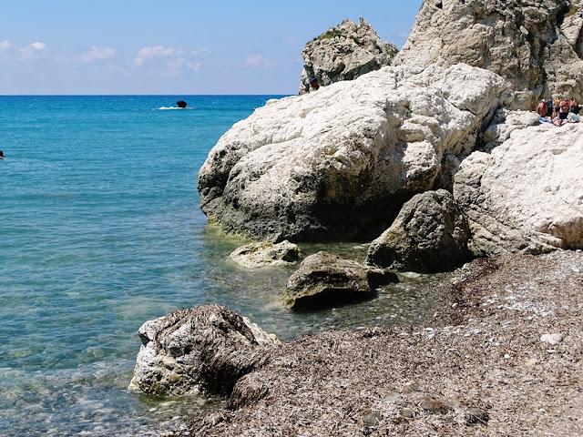 Cypr samochodem - plaża Afrodyty