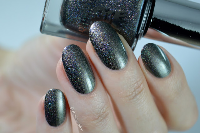 nail polish a england holographic the beggar maid