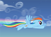 Super Vuelo de Rainbow Dash