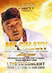 ENTERTAINMENT: MC Galaxy Live in Berlin