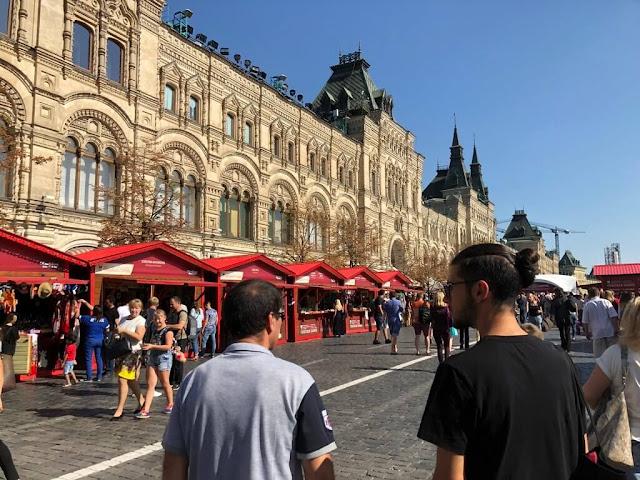 Centro Comercial GUM - Moscovo