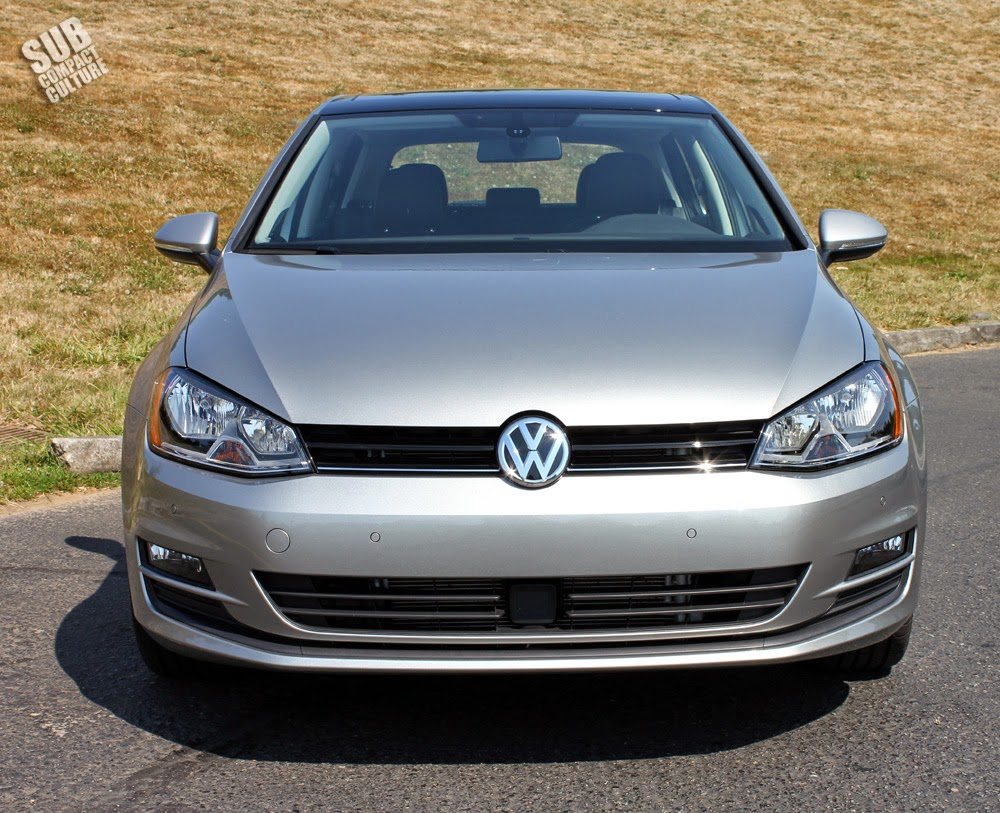 2015 Golf TDI front facing