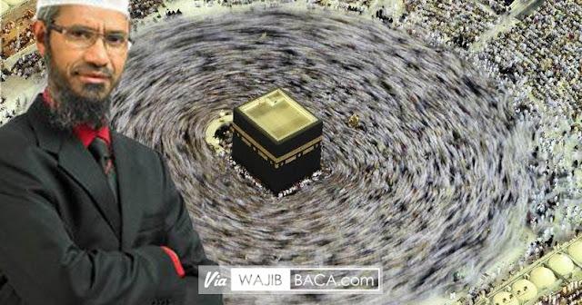 Ka`bah dan Arah, Mengapa Umat Islam Mengelilinginya? Jawaban Dr Zakir Naik Ini Bikin Gemetar!