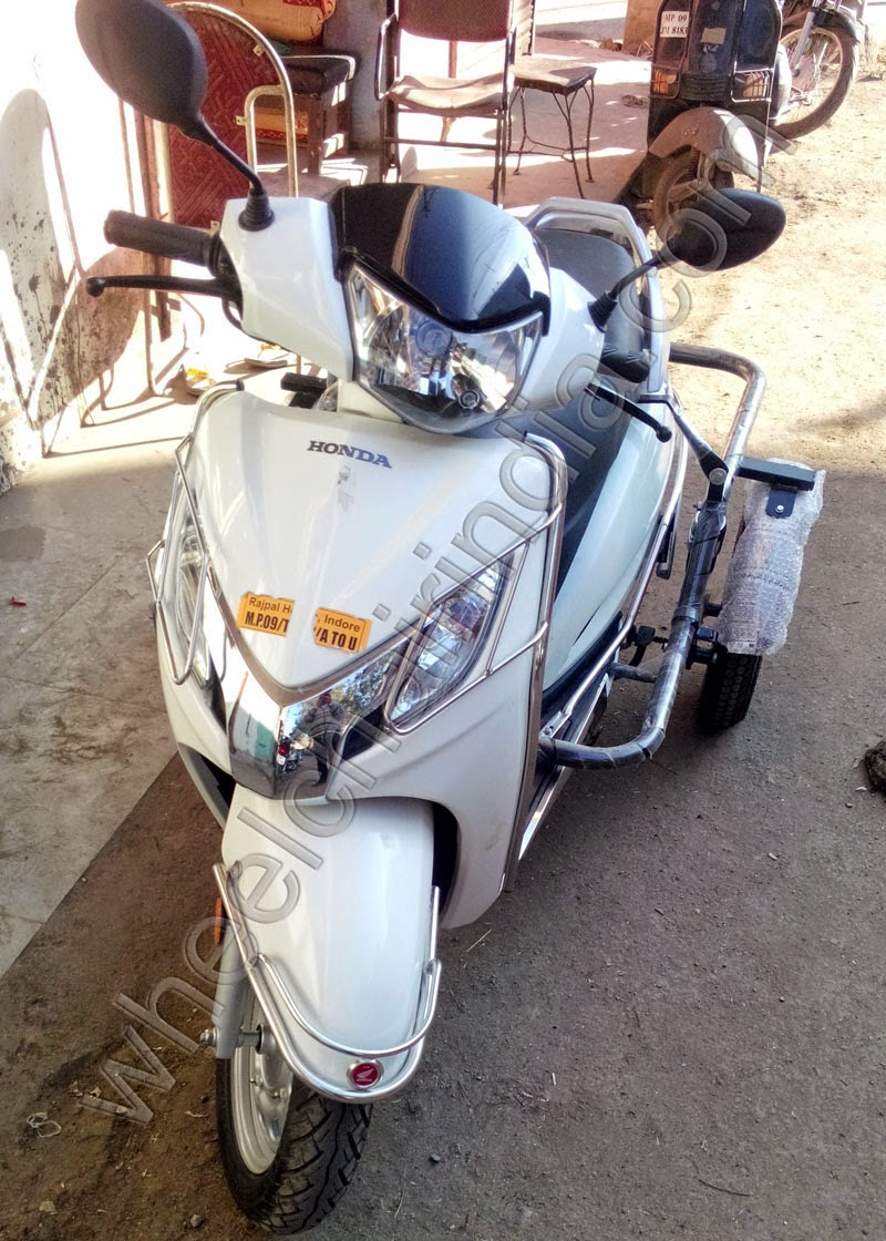 Scooter For Handicapped Person
