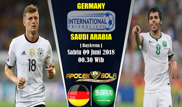 Prediksi Jerman Vs Saudi Arabia 9 Juni 2018