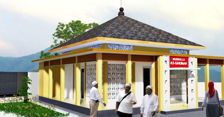 Contoh Gambar Autocad Mushola Sederhana Arsitek Sipil Blog