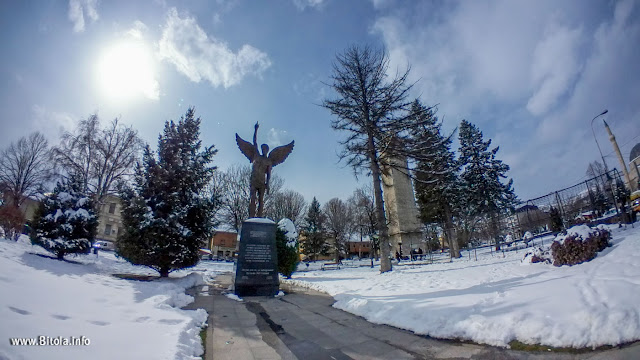Angel Monument - Bitola