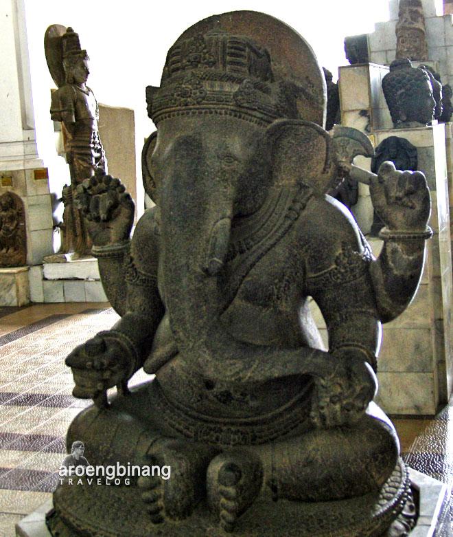 patung ganesaha museum nasional indonesia