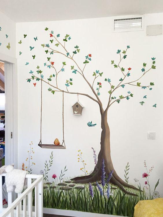 Dibujos gigantes para decorar tus paredes