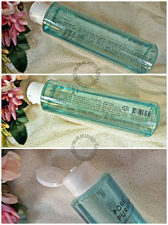 pore purifying serum cleanser kemasan dan aplikator