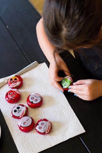 healthy fun snacks with mini babybel