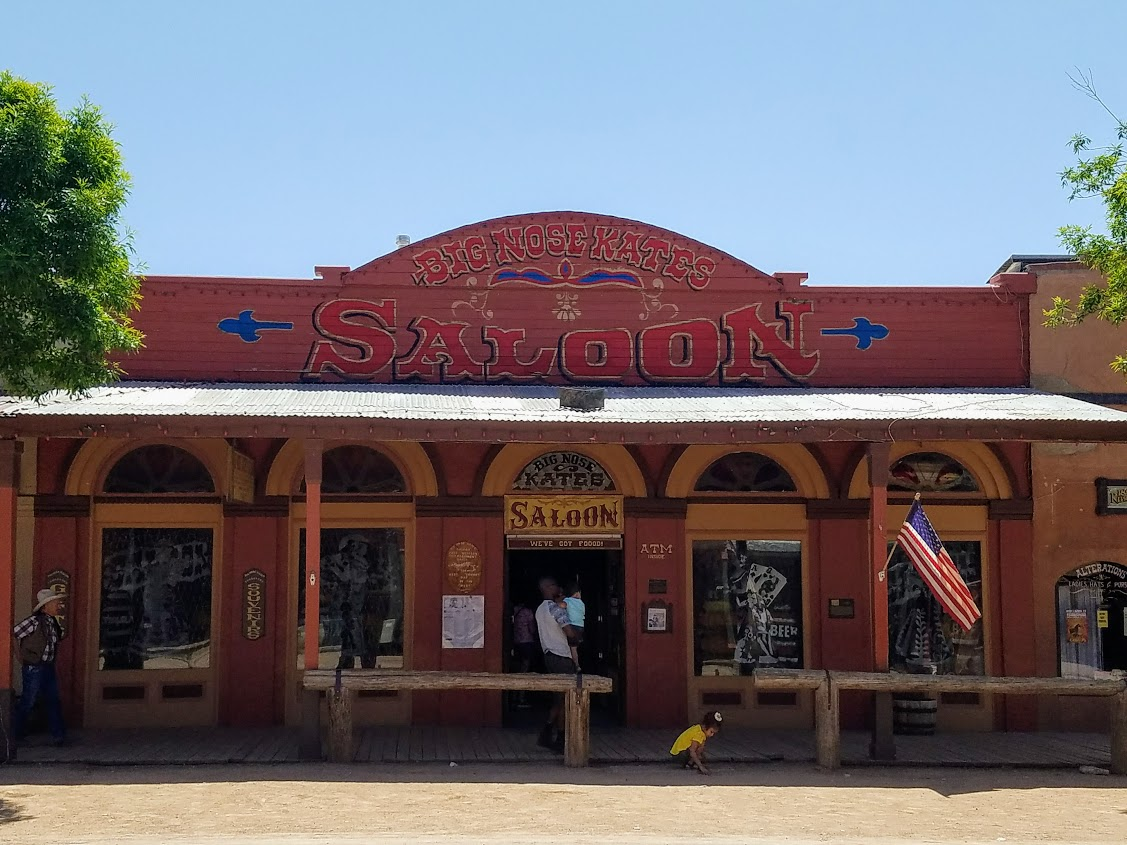 tombstone arizona big nose kate's saloon