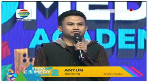 Peserta Stand Up Comedy Academy 2 yang Gantung Mik Tgl 17 Agustus 2016