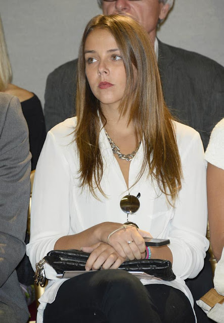 Pauline Ducruet Attends a Fashion Show in Paris