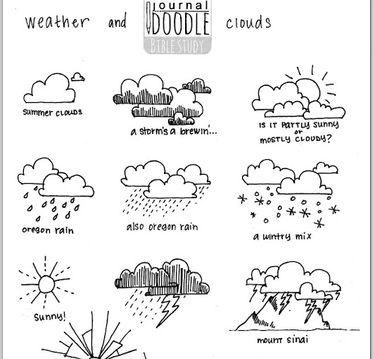 Doodle Wednesday -- Weather