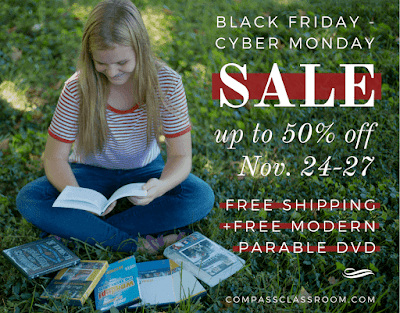 Black Friday Compass Classroom #homeschool #BlackFriday