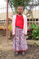 Our sponsored child, Neema