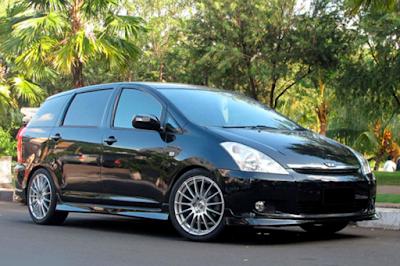 Toyota Wish Modifikasi Dijual