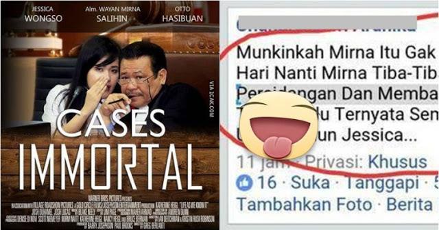 Setelah Kasus Mirna Mencapai Sidang Ke-24, Lihatlah Komentar Netizen Ini. Bikin Terjungkal!