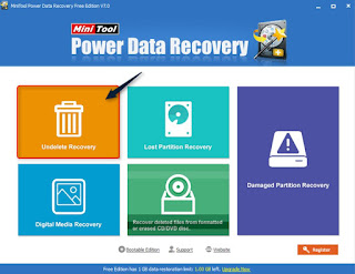 Cara Mengembalikan Data Yang Terformat Via Mini Tool Power Data