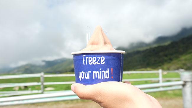 gelato yogurt kundasang. Sekarang dah tak boleh campur yogurt dan coklat.