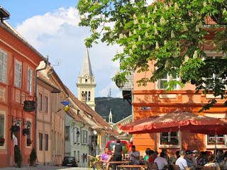 Main Square Sighisorara Romania