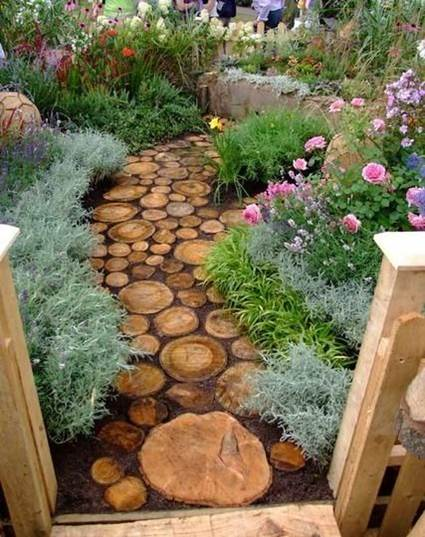 How To Make a Garden Stone Path With Gravel 9