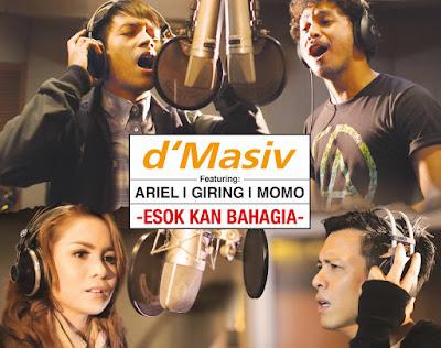 Mp3 Esok Kan Bahagia - d'Masiv Feat Ariel, Giring, Momo Gratis