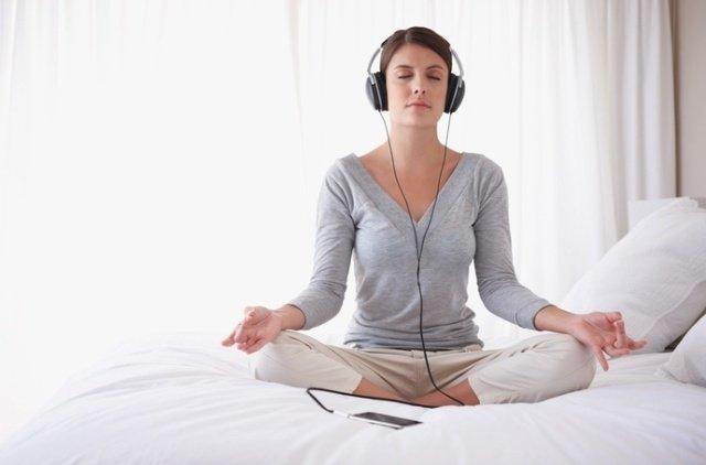 escuchar musica de relajacion