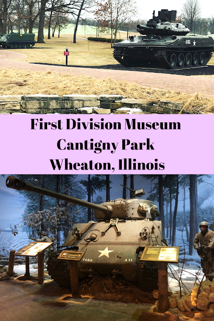 First Division Museum of Cantigny Park in Wheaton, Illinois: Learning the History of The Big Red One