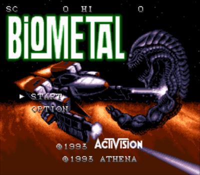 【SFC】生化金屬戰機(Bio.Metal)原版+無敵版,節奏明快的飛行射擊遊戲!