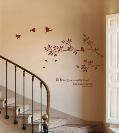 Charming Even You Can Repaint It After A Period Of Time For A Change In Design,  Pattern And Art. Make You Staircase New After Every 5 Year Of Time Period.