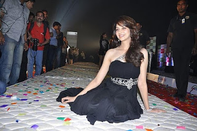 Saumya Tandon black dress