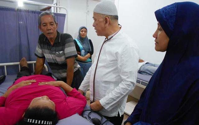 Aznan Lelo, Dokter Yang Enggan menetapkan Tarif Dalam Pengobatannya
