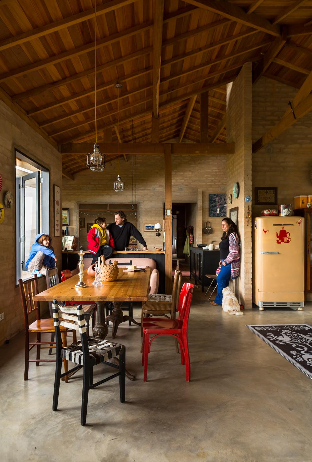 Celeiro mineiro m veis r sticos celeiro inspira 5 casas - Casas rusticas de campo ...