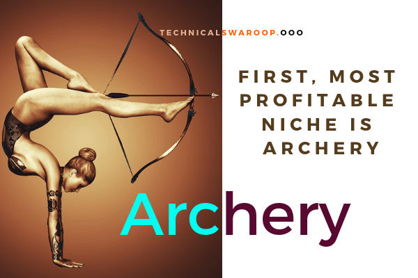 First, most profitable niche is Archery