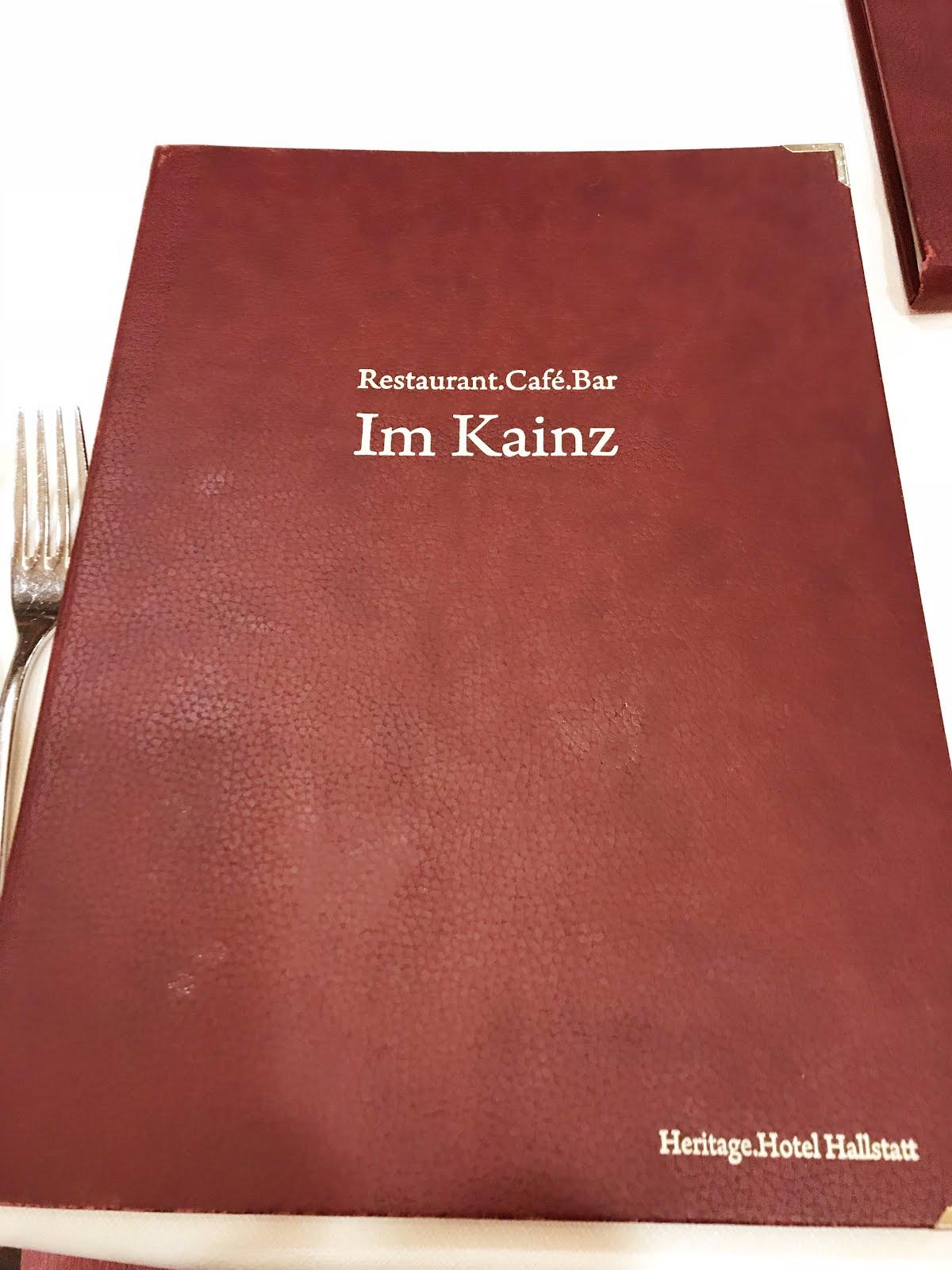 沙維奧 • 如何毒遊毒食而不失威: 【奧地利 哈爾施塔特】輕食歷史酒店餐廳Im Kainz