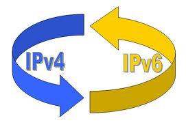 Imagem de transição do Ipv4 para o Ipv6