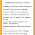 Membuat Widget Random Post Di Blogger Simple