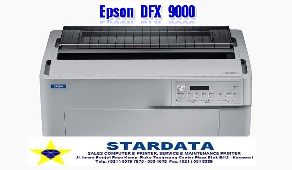yakni Printer Dotmatrix yang mempunyai banyak keunggulan diantaranya Spesialis Service Epson DFX 9000 Tangerang Jakarta